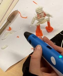 Werken met 3D-printpennen