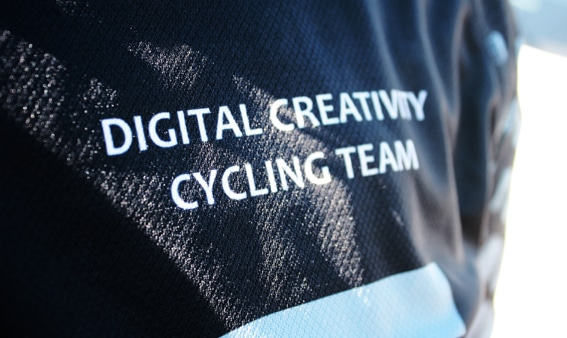 Digital Creativity cycling team